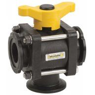 Banjo 3 Way Ball Valves - Flange Ports