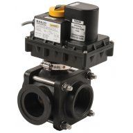 Banjo Electric 3 Way Ball Valves - Side Load