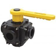 Banjo Polypropylene 5 Way Ball Valves