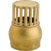 Brass One Way Foot Filters